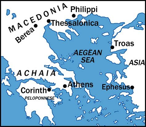 map of corinth 2 corinthians discipleship lessons linking page