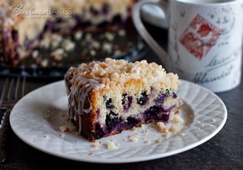Lemon Blueberry Coffee Cake Recipe   Barbara Bakes