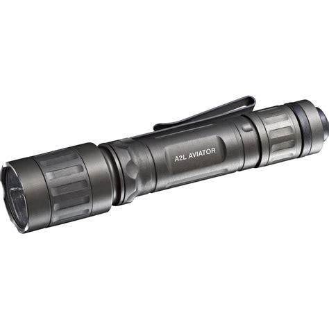 led surefire surefire a2 led aviator dual spectrum flashlight a2l ha rd b h