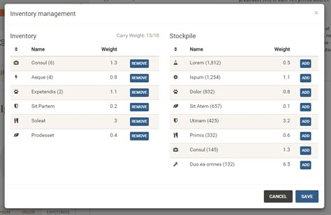 Ui Pattern Add To List | gui design how to properly manage exchange between two