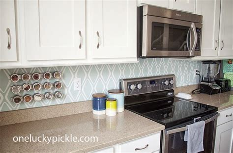 diy temporary backsplash house updated best 25 removable backsplash ideas on pinterest easy