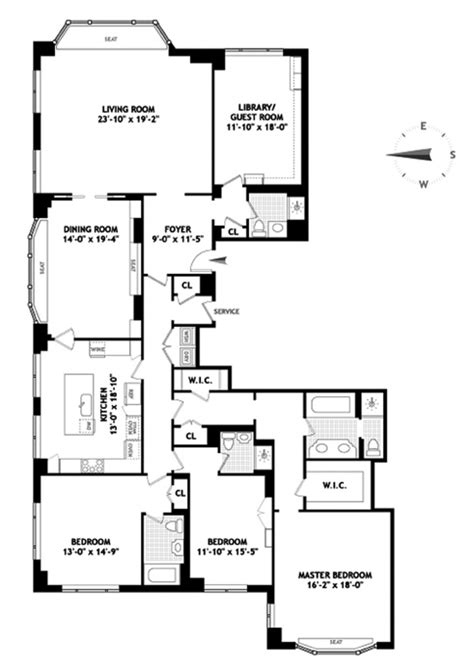 15 cpw floor plans 15 central park west 31d condo apartment sale in