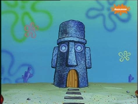 squidward s house lol music spongebob spongebob squarepants squidward clarinet how did i not notice