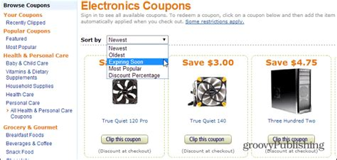 amazon coupons for