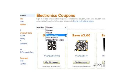 amazon discount coupons on electronics