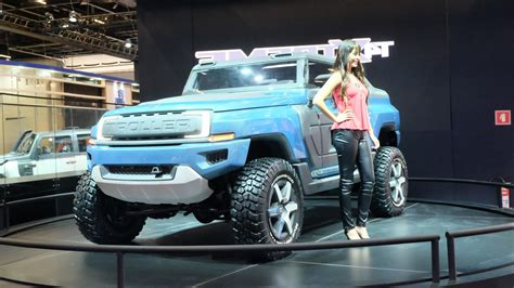 Ford T4 Troller by Brazil S Troller T4 Xtreme Concept Envisions Possible