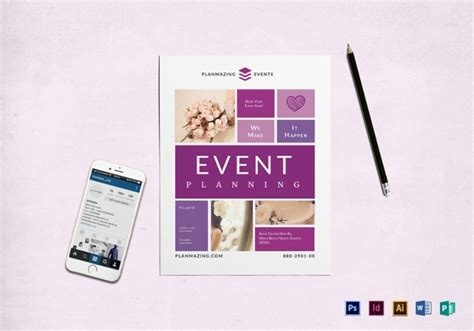 24 Event Planning Flyer Template Free Psd Ai Eps Format Download Free Premium Templates Event Management Flyers Templates