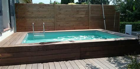 Piscine Bois Hors Sol 325 by Kit Piscine Bois Hors Sol Rectangulaire Luxe 420 X 320 X