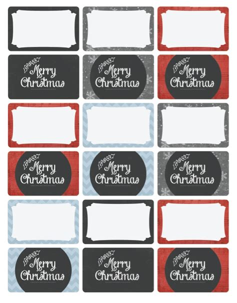 merry christmas holiday labels  catherine auger worldlabel blog
