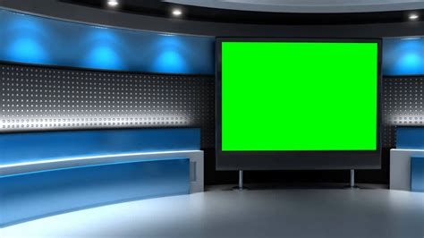 Studio Background In Green Screen Free Stock Footage Youtube Green Screen Templates