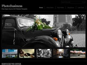 photobusiness free website template | free css templates