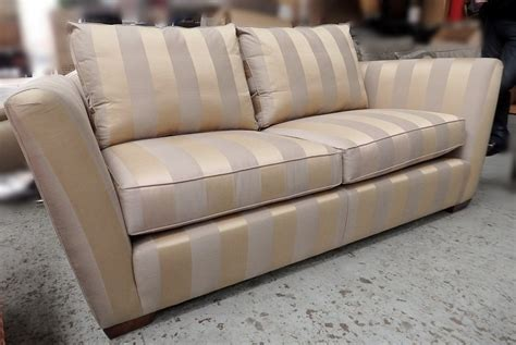 striped sofa uk striped fabric sofa clic fabric double sofa bed thesofa