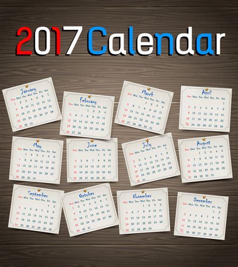 calendar 2017 free vector 1 519 free vector for