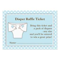 baby raffle ticket template blue boy baby shower raffle ticket insert large