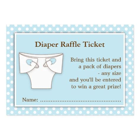 diaper raffle tickets new calendar template site
