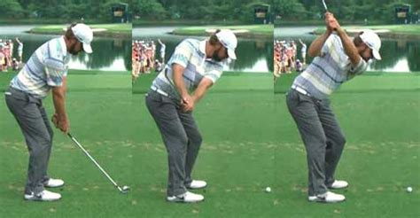 the golf swing it all in the hands brokthinkwincoe luke donald swing sequence