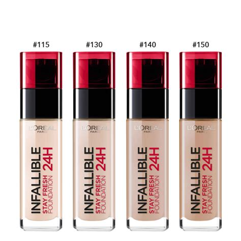 Harga Loreal Foundation loreal infallible liquid foudation 115 update