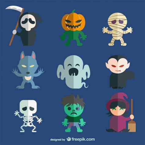 editar imagenes halloween online colecci 243 n de personajes de halloween descargar vectores