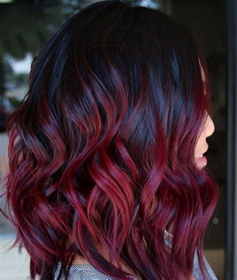 wine hair color mulled wine hair color is a comeback and we want