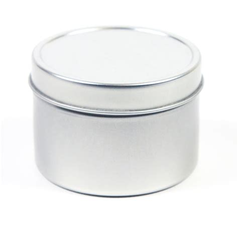 Candle Tins Clear Cube Box