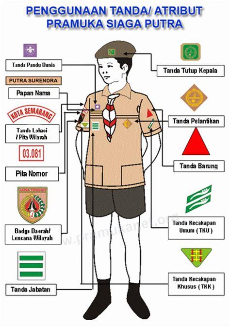 Atribut Baju Pramuka Putra atribut seragam pramuka siaga putra