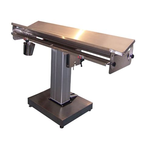 Electric Tables V Top Electric Lift Operating Table Markforce Veterinary