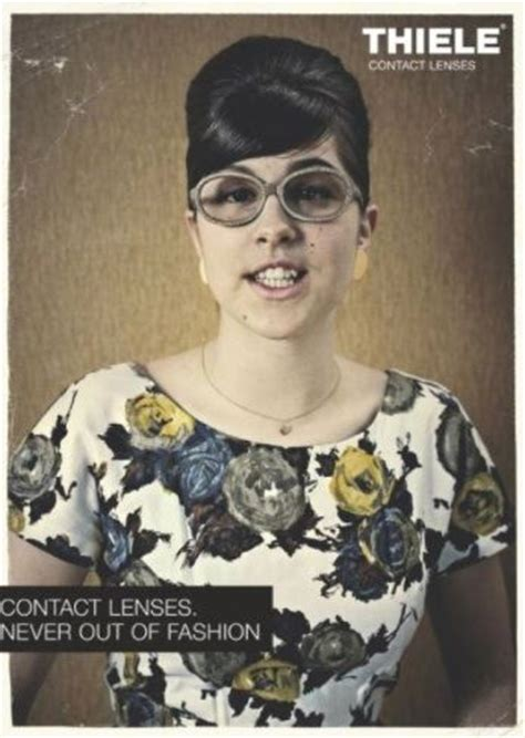 contact lens ad 1970's   print ads from the 1970's