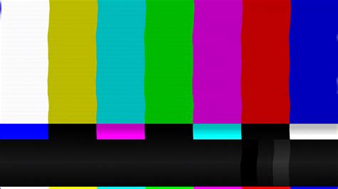 color bars tv color bars bad signal pal stock footage