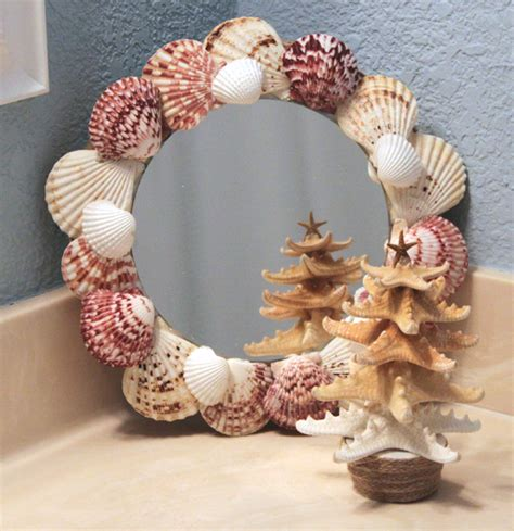 striking shell mirror designs  tutorials guide