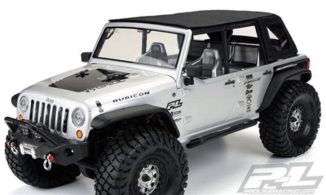 Soft Top Jeep Wrangler Unlimited Pro Line Timberline Soft Top For Axial Scx10 Wrangler