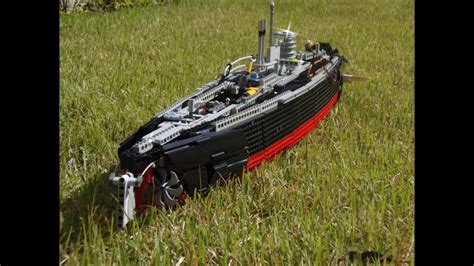 u boat videos lego technic u boat video 3 ultimate version youtube