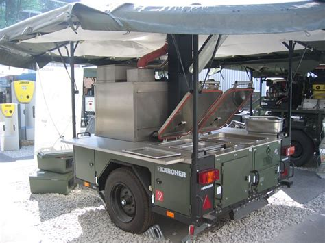 army teardrop trailer hitch kitchen   complete
