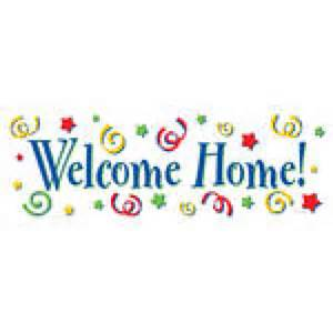welcome home banner welcome home banner fever