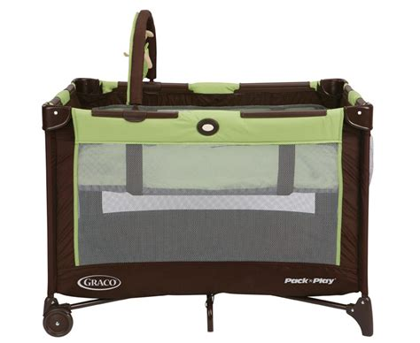 pack n play slipcover graco go green travel bassinet playard pack n and play pen