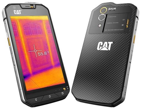 best rugged smartphone in india cat s60 rugged smartphone with flir thermal launched in india at rs 64 999