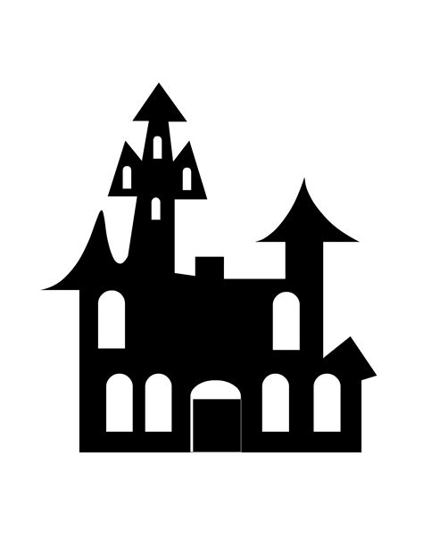 house silhouette printable haunted house silhouette www imgkid com the