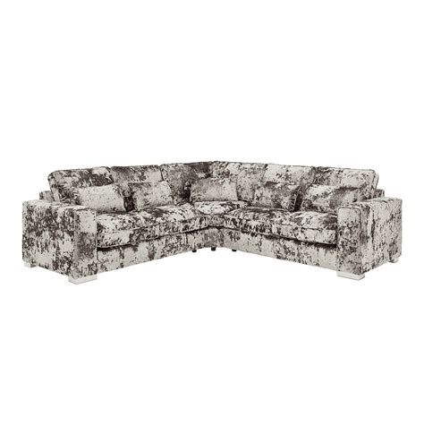 charcoal crushed velvet sofa crushed velvet furniture sofas beds chairs cushions