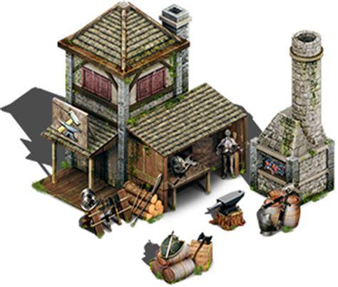 House Builder Game medieval blacksmith isometric 2 5d opengameart org