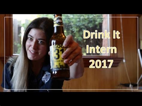 drink it intern world of beer drink it intern 2017 youtube