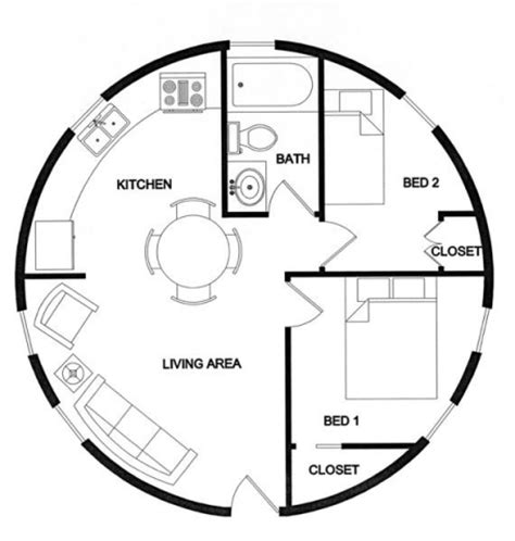 540 sq ft floor plan lexa dome tiny homes 540 sq ft dome cabin