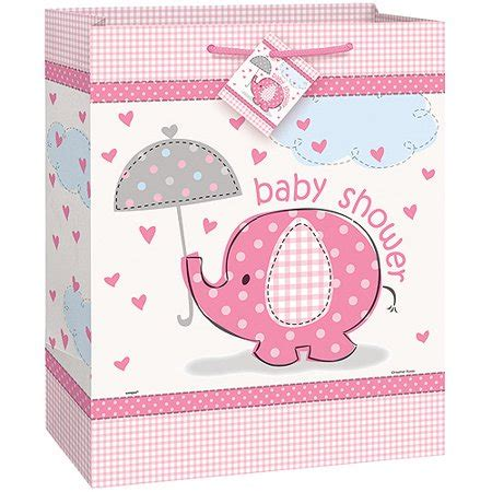 Walmart Baby Shower Gifts by Pink Elephant Baby Shower Large Gift Bag Walmart