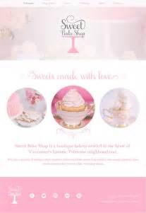 cupcake design template showcase of 10 beautiful cupcake website design