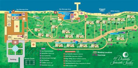 dorado resort map el dorado seaside suites map yucatan mexico paradise