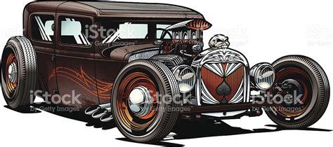 Rod Car Clipart