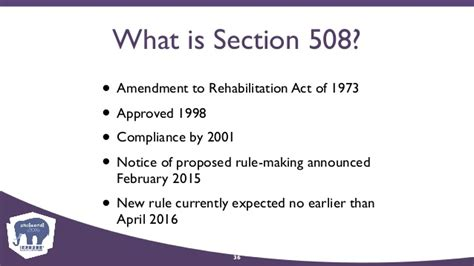 section 508 amendment to the rehabilitation act of 1973 website accessibility it s the right thing to do