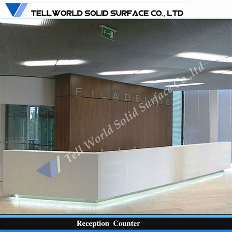 mobile reception desk acrylic solid surface mobile reception desk buy solid