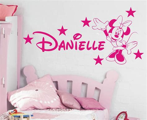 minnie mouse wallpaper for bedroom minnie mouse wall stickers minnie mouse personalised