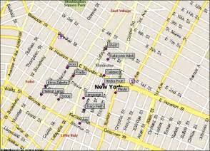 Soho New York Map by Similiar Soho Walking Tour Map Keywords