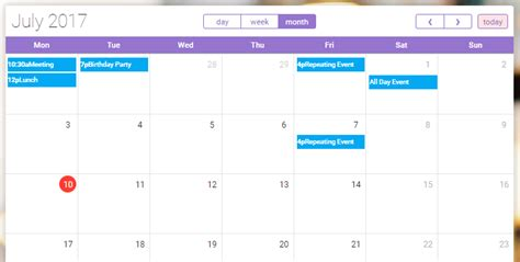 calendar design bootstrap bootstrap templates for web developers