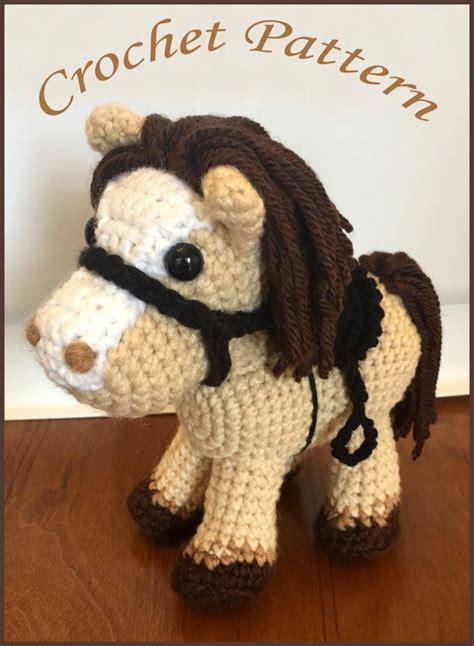 amigurumi horse the pony pdf crochet pattern amigurumi and